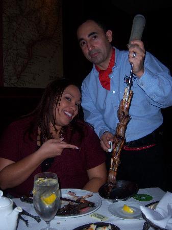 Fogo de Chao Brazilian Steakhouse: Lamb chop man . . . I love him!