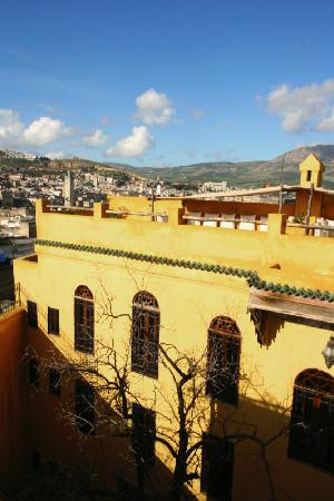 Riad Le Calife: vu de la Terrasse