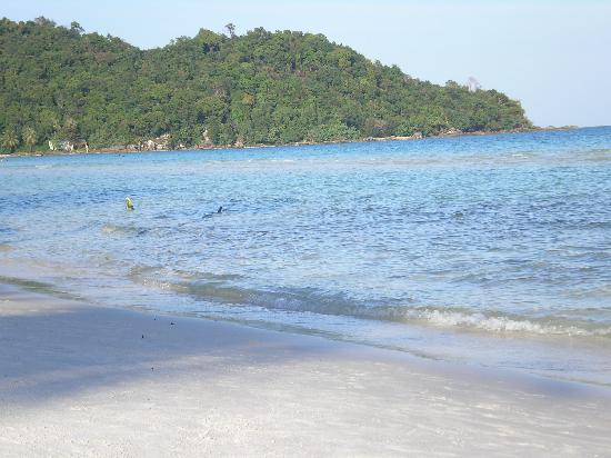 Becko Jacks Resort: look at that water!
