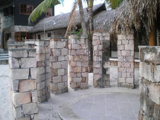 Becko Jacks Resort: great outdoor shower