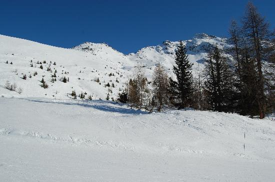 Sainte-Foy: mid afternoon and the slope to myself!