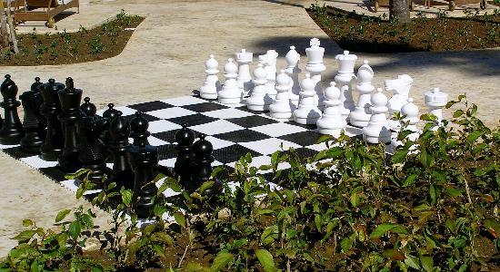 Iberostar Grand Hotel Bavaro: Chess in Pool Area