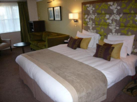 Linthwaite House: comfy bed