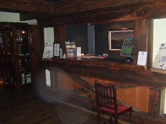 Oyster Inn: The reception