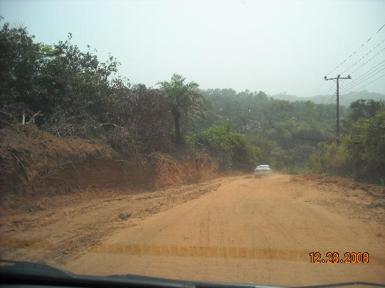 Nigéria: village road