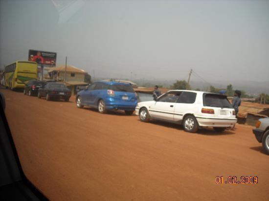 "Nigéria : ""go slow"" around 9th Mile Enugu State"