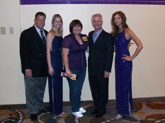 The Price is Right Game Show: The crew of The Price is Right and myself.