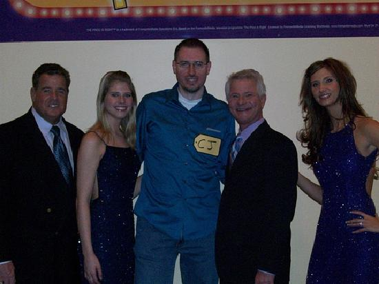 The Price is Right Game Show : The Price is Right crew and my husband