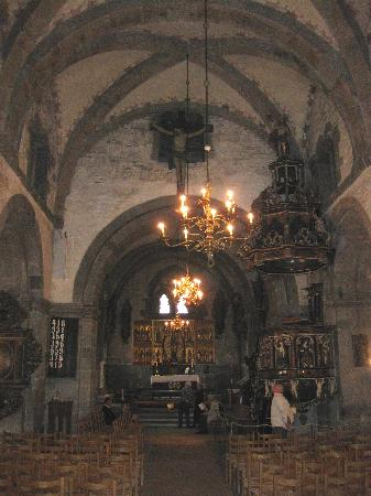 St. Mary Church: View of sanctuary from back