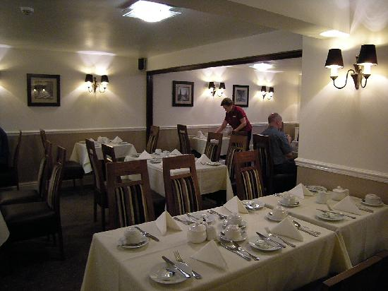 Kimberley Hotel: The breakfast room
