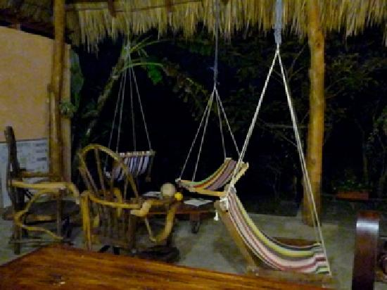 Empalme a Las Playas: The Famed Hammock-Chair-Thingies