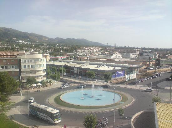 El Albir, España: View of albir from albir playa hotel