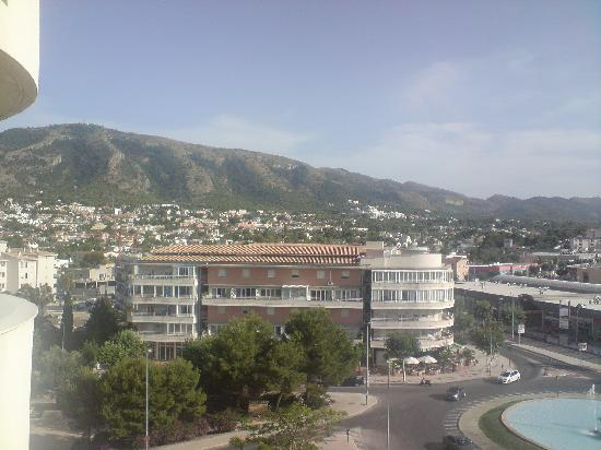 El Albir, Spain: View of albir from albir playa hotel