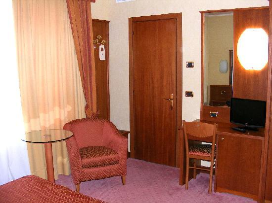 Venedig im Januar - Hotel President - Zimmer 452