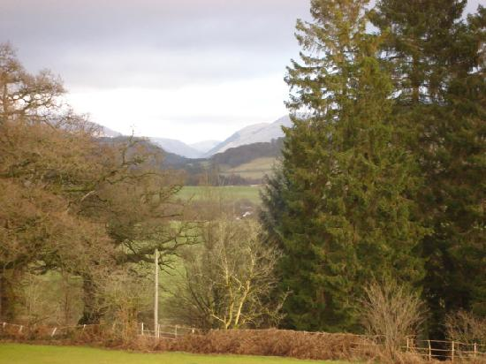 View from Marchbankwood House