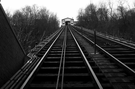 Pittsburgh, PA: Incline Tracks and Station House