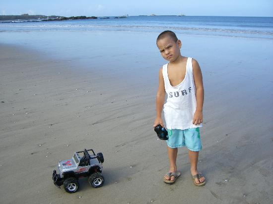 Tamarindo, Costa Rica: Play on the beach