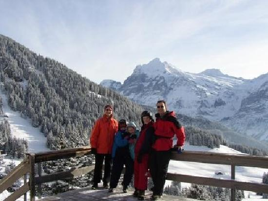 Chalet Gletschertal: View from Bussalp