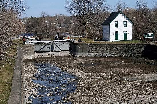 Merrickville, Canada: Old Lock