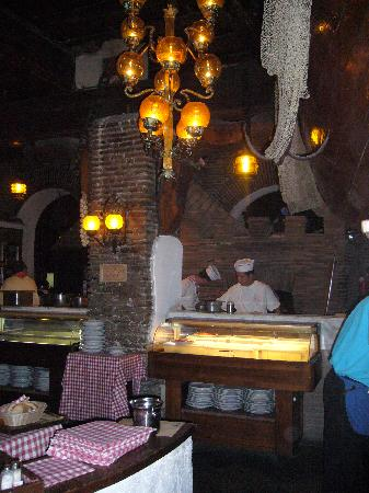 La Taverna de' Mercanti : Kitchen