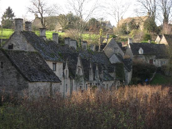 Bibury, UK: Arlington Row en novembre