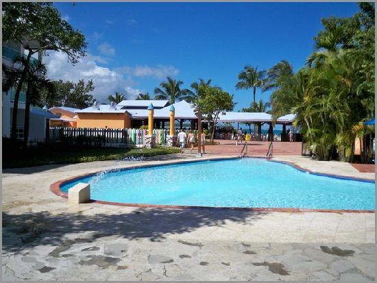 Grand Paradise Playa Dorada: Blick zum Meer