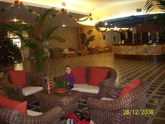 Club Marmara Cala Regina : reception