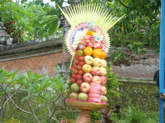 Fruit Offering Picture Of Prama Sanur Beach Bali Sanur Tripadvisor