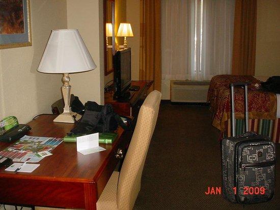 La Quinta Inn & Suites Tampa North I-75: Seperate desk area