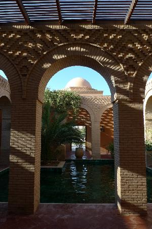 Hotel Ksar Rouge: Patio du Ksar Rouge