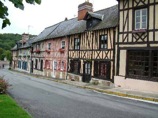 Auberge de L'Abbaye : Vue du village