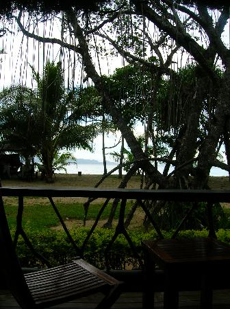 Uprising Beach Resort: View from the bure