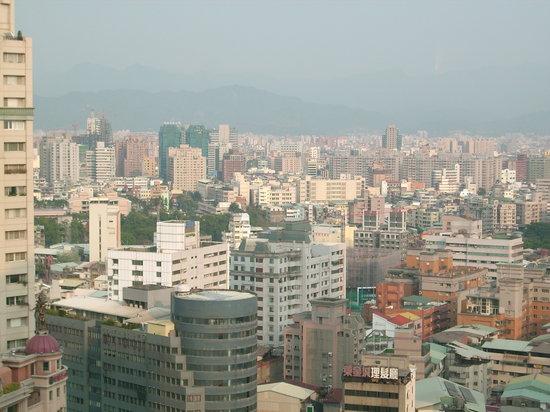 The Splendor Hotel Taichung: Desde mi habiatacion