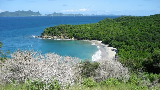 Carriacou, Grenada: anse la roche beach