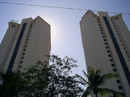 Las Torres Gemelas: vue de la rue