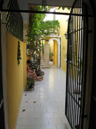 62 St. Guest House: Courtyard
