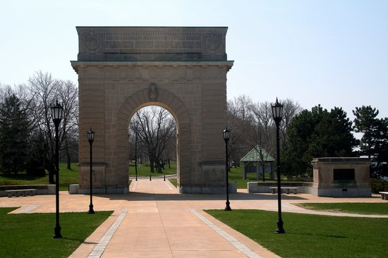 Kingston, Canada: Military Academy Arch