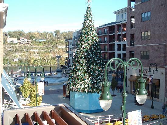 Hilton Promenade At Branson Landing View From Our Hotel Veranda