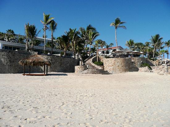 One & Only Palmilla: View from the beach
