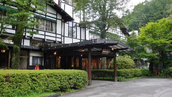Mampei Hotel: ホテルエントランス