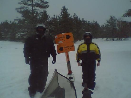 Benjamin's Beaver Creek Resort : My son and I on the trails