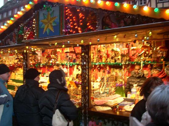 Christmas Market (Christkindelsmarik): Vendors of all types can be found in the Strasbourg Market