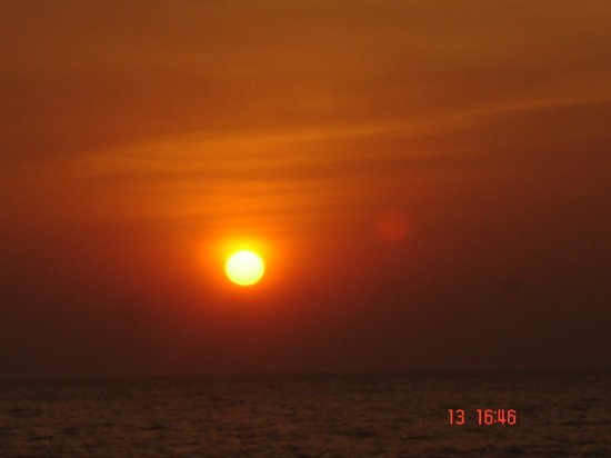 Canacona, India: sunset kolla beach