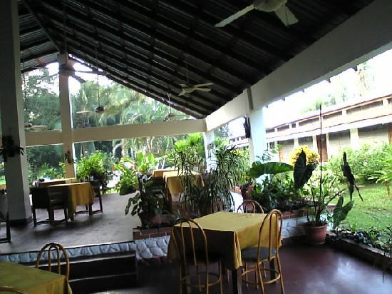 Hotel Jaguar: restaurant / lobby area