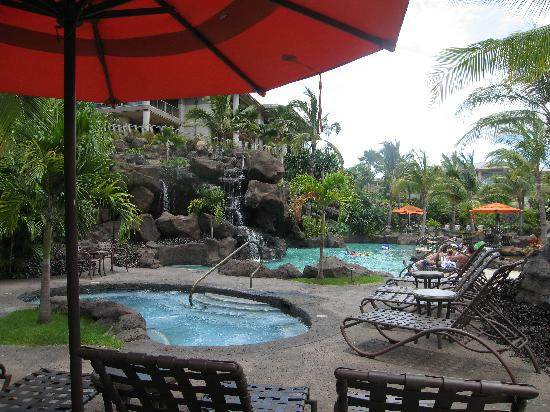 Ho'olei at Grand Wailea: The Pool Area
