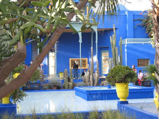 Riad Menzeh: Le jardin majorelle