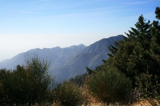 ‪‪Mount Wilson‬, كاليفورنيا: Mount Wilson View with Haze‬