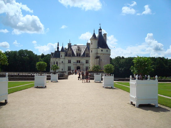 Γαλλία: Castillose Cenonceau, Francia 2008