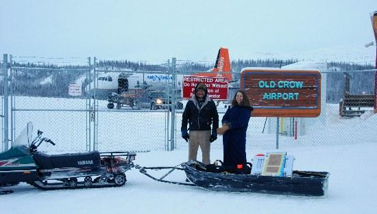 Yukon, Canada: Old Crow Airport