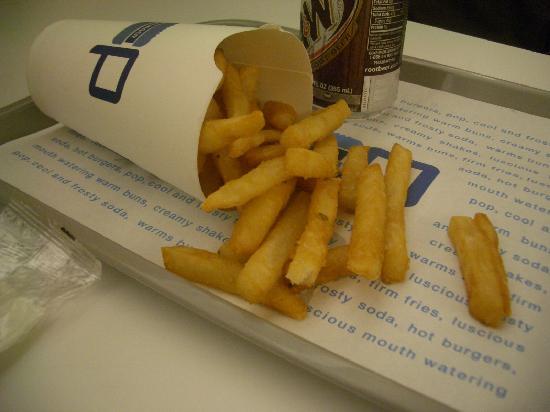 Pop Burger: ポテト